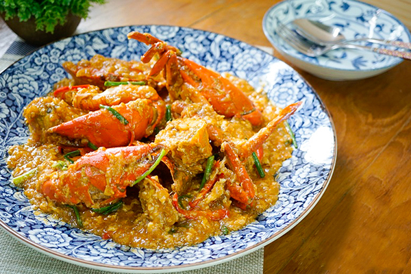 Stir Fried Crab Sauce